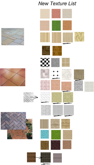 new floor textures in Floorplanner