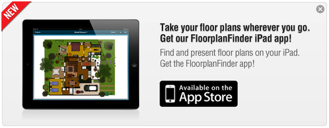 FloorplanFinder IPad App