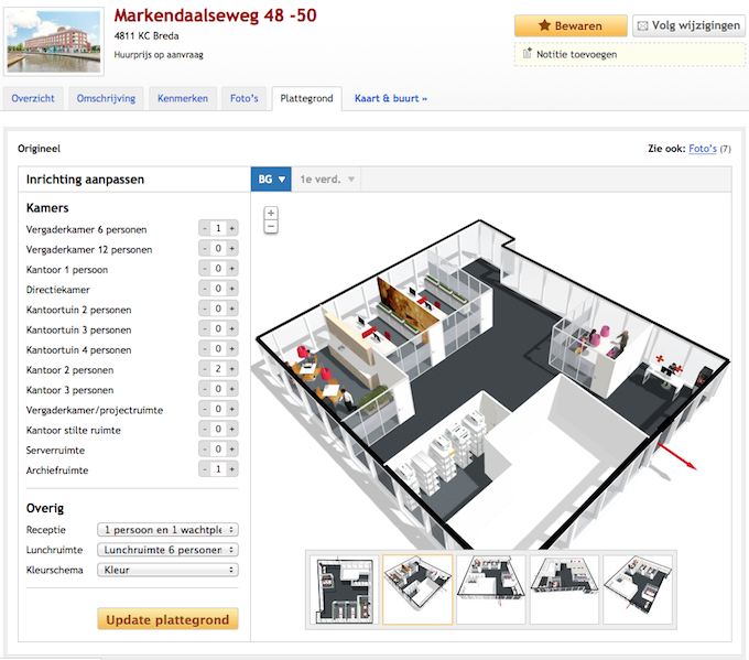 floorplanner partners with officeplanner to visualize