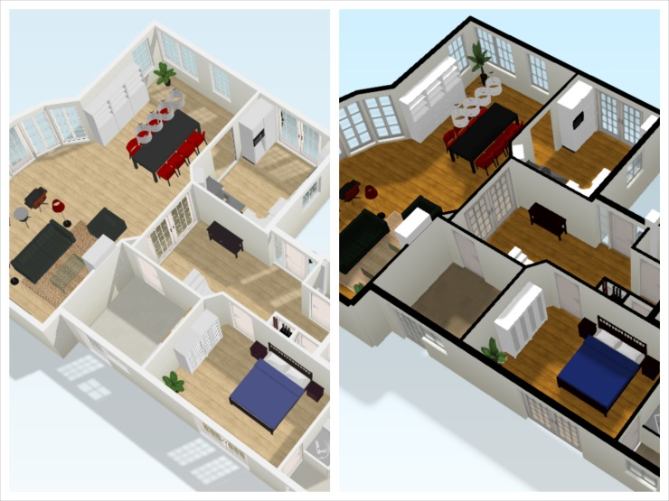 A first glimps of floorplanner 39 s new 3d floorplan for Www floorplanner