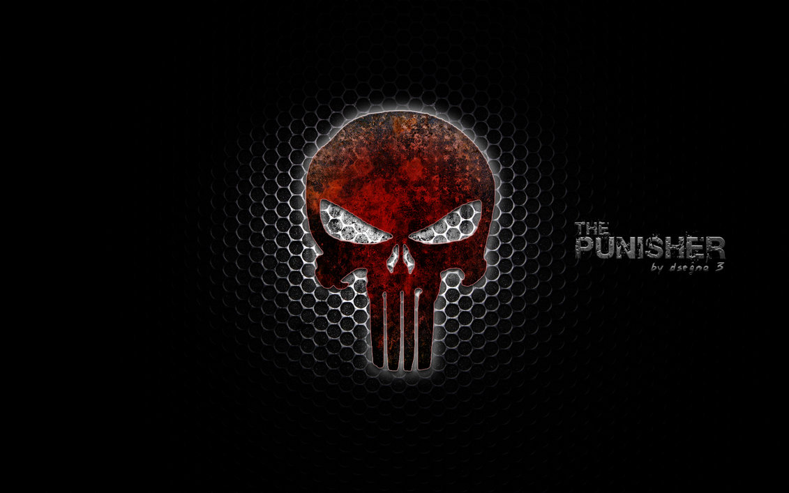 Punisher logo wallpaper | Wallpaper Wide HD
